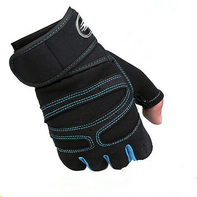 Sports Gym Training Fingerless Tactical Army Climbing Bicycle Antiskid Gloves