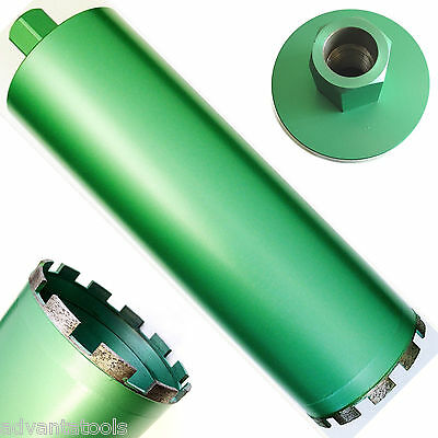 "4-1/4"" Wet Diamond Core Drill Bit for Concrete - Premium Green"