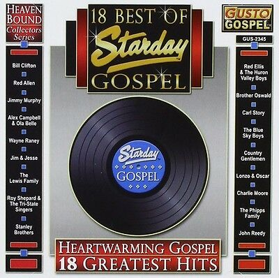 Various Artists - 18 Best of Starday Gospel / Various [New CD]