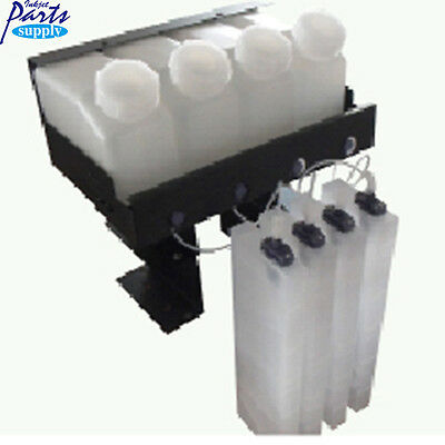 4Ink Barrels With 8 Ink Cartridge Without Chip Roland CISS Bulk System for VS640