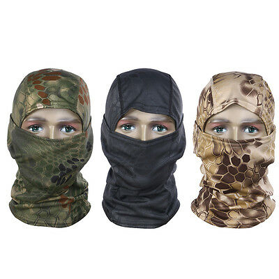 Adult Balaclava Motorcycle Winter Ski Cycling Full Face Mask Cap Hat Cover