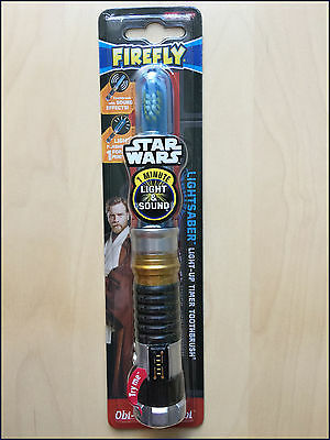 STAR WARS OBI-WAN KENOBI TOOTHBRUSH - With sound effects and 1 minute timer