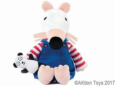 "MAISY MOUSE 15"" plush soft toy with Panda Aurora Lucy Cousins - NEW!"