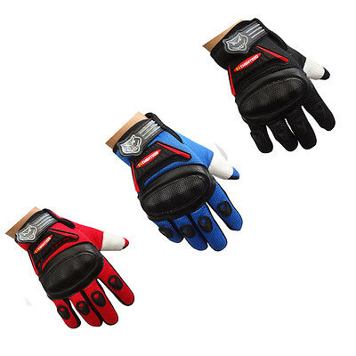 Kids Children Motocross Motorcycle Gloves Cycling Riding Bike Racing Gloves S XL