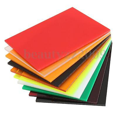 5mm (A5) 210x148mm Acrylic Perspex Sheet Cut to Size Panel Plastic Satin Gloss