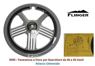 Paracatena a Disco Universale x Guarniture 46-48 T per Bici 26-28 Fixed Scatto F