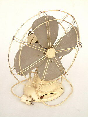 Antique Beanwy Electric Ltd British Made Tyseley Birmingham B & Y Art Deco Fan