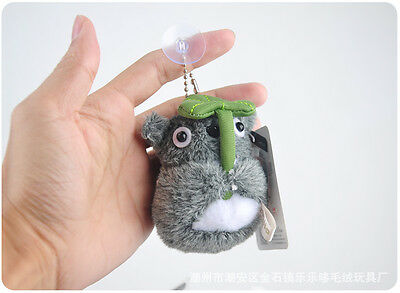 New Totoro Plush Key chain Pendent Doll Small Stuffed Toys - 3""