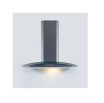 S/S CURVED GLASS COOKER HOOD 60cm CLGCH60-C - MANCHESTER