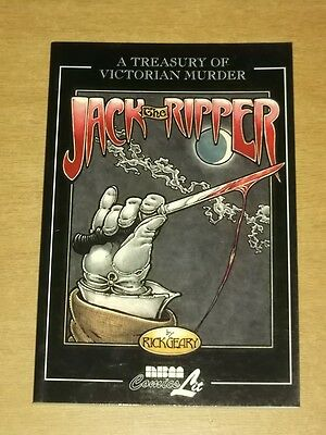 Jack The Ripper by Rick Geary A Treasury of Victorian Murder (PB)< 9781561633081