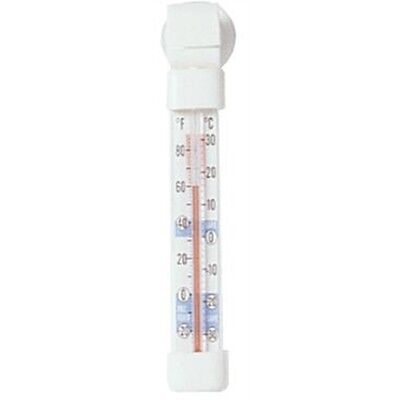 Fridge Freezer Thermometer - Stands Hangs Sticks Hook