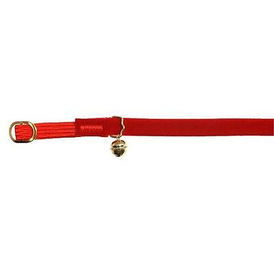 Velvet Id Cat Collar Assorted Colours - Fashionable James & Steel Pet Accessory