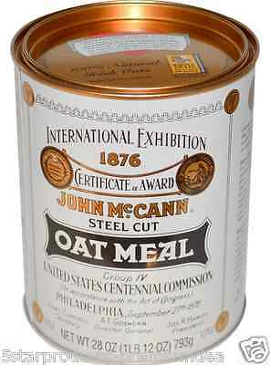 New Maccann's Irish Oatmeal Steel Cut Whole Grain Natural Low Fat Daily Cereal