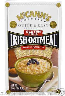 New Maccann's Irish Oatmeal Quick & Easy Steel Cut Whole Grain Low Fat Cereal
