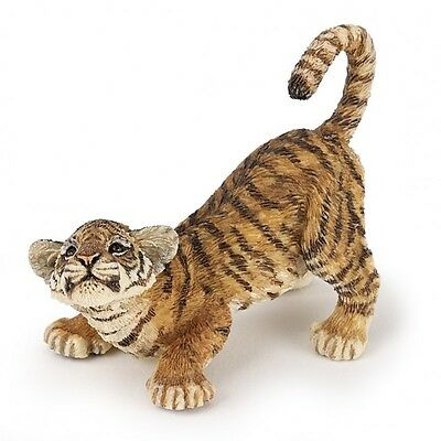 Playing Tiger Cub - Papo 50183 Figure Wild One