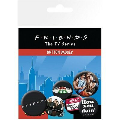 Friends Characters Badge Pack - Tv Show Sitcom Official Fan Merchandise