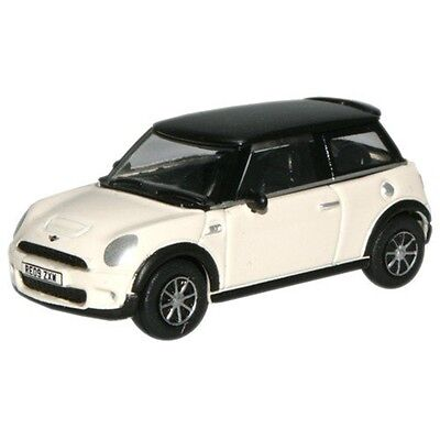 1:76 Pepper White Oxford Diecast New Mini - Model Modern Car Collectable Gift