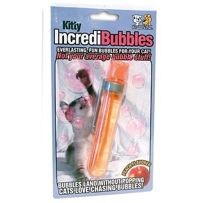 Kitty Bubbles Anti Pop Cat Toy - Pet Qwerks Incredi Everlasting For Cats Kitten