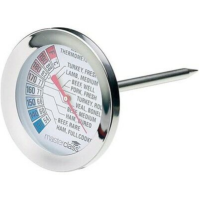 Easy Read Meat Thermometer - Tala S Steel Probe Food Catering Bbq