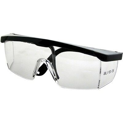 Safety Glasses With Clear Lens - Eye Health And Saftey Goggles New