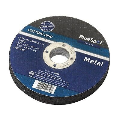 "Metal Cutting Disc - Blue Spot 4 1 2"" 4.5"" 115mm Angle Grinders Tool Part"