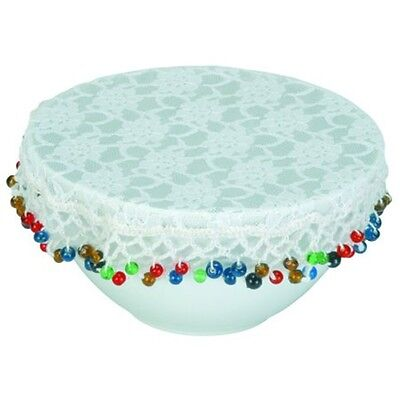 20cm Lace Bowl Protective Cover - Traditional Round Protects Bowls And Jugs