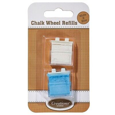 Chalk Wheel Refill Fabric Marker - Korbond Ideal For Patterns Sewing