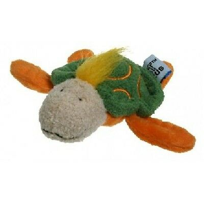 Sea Life Turtle Soft Plush Dog Toy - James & Steel Cat Hunt Catch Pounce