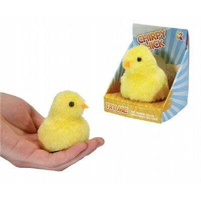Chirpy Chick Soft Toy With Sound - Fun Novelty Gift Pocket Money Party Bag