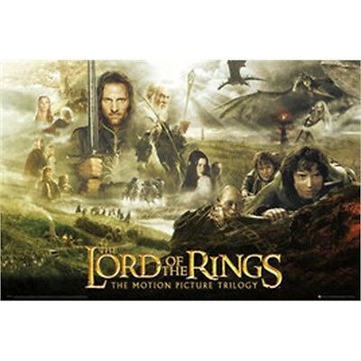 Lord Of The Rings Trilogy Maxi Poster - 61x 91.5cm Official Fan Film Merchandise