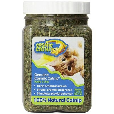 1 1/4oz Cosmic Catnip Jar - Cup 4oz Cat Toys Playing Stimulation Pet Care