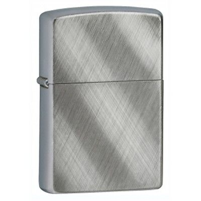 Regular Diagonal Weave Zippo Lighter - Pocket Gift Present Smokers Accessory