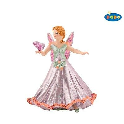 Papo Pink Elf Butterfly Figurine - Kids Toy Model Fantasy Mythical Fairy Figure