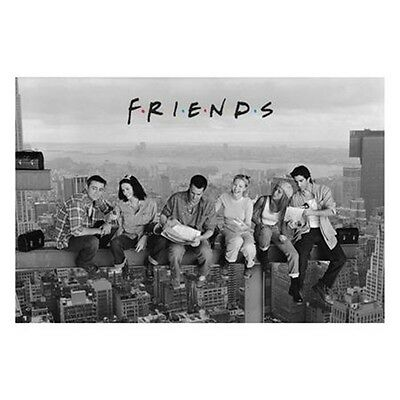 61 x 91.5cm Friends Skyscraper Maxi Poster - Lunch On A New York New