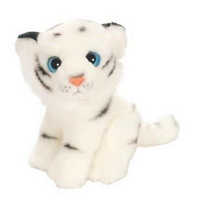 "7"" White Tiger Soft Toy - Wild Republic Watcher 88750 Wide Eyed 18cm"