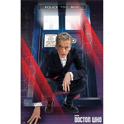 Doctor Who Crouching Maxi Poster - Bed Room Playroom Study Home Wall 61x91.5cm