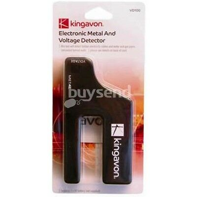 Electronic Metal & Voltage Detector - & Live Wire Cable Pipe Electric Audible