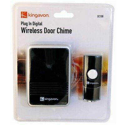 Plug In Digital Wireless Door Chime - Bell