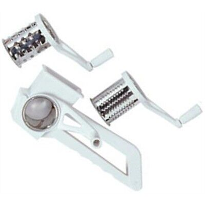 Rotary Grater With 4 Grating Options - Plastic Drum Mill Slicer Cheese Nuts Veg