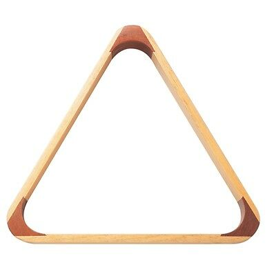 "2 1/4"" Wooden Snooker Triangle - Powerglide 1 4"" Pool Table Accessory Equipment"