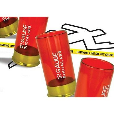 12 Gauge Shot Glasses - Drinking Game Shotgun Shell