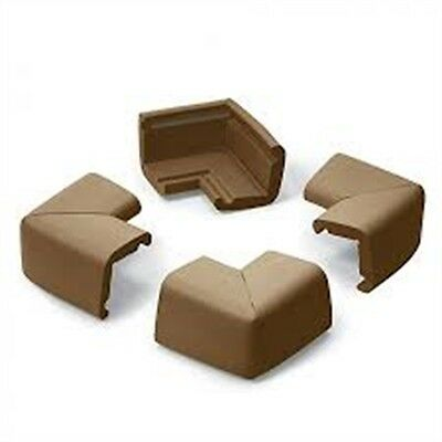 Prince Lionheart Cushiony Jumbo Corner Guards Chocolate - 4pk Colour Toddler