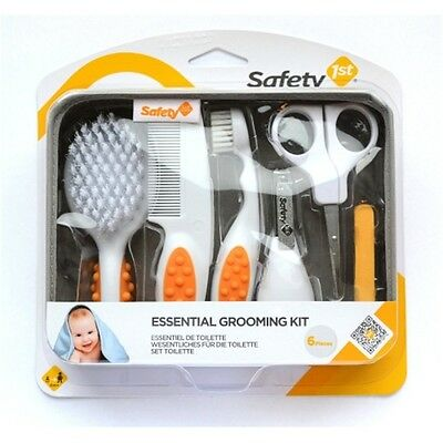 Safety 1st Essential Grooming Kit - Baby Cleaning Bathing Brush Clippers Infant