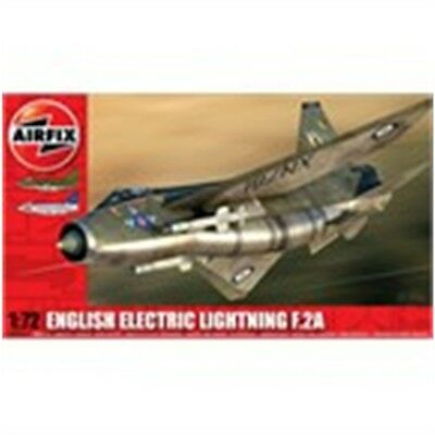 1:72 Airfix English Electric Lightning F2a Aircraft Model Kit - Supersonic Jet