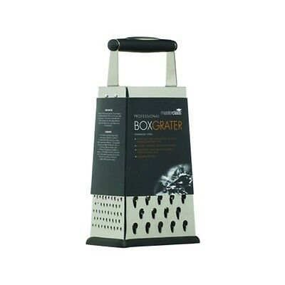 24.5cm Master Class Professional 4 Sided Box Grater - Four Cheese Vegetable