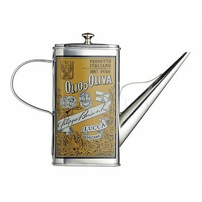 500ml World Of Flavours Italian Stainless Steel Oil Can Drizzler - - Traditional
