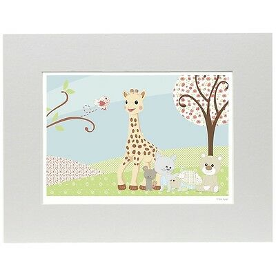 Sophie La Girafe Limited Edition Art Print (a Day Out)