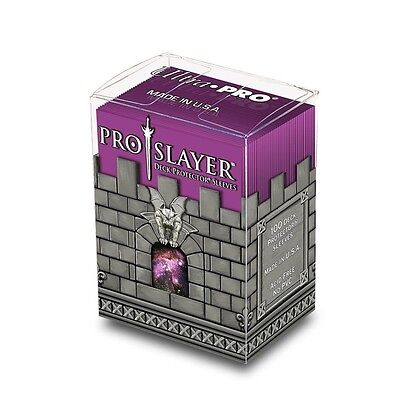 100 Ultra Pro Pro-slayer 100 Deck Protector Sleeves And Deck Box - Pink -