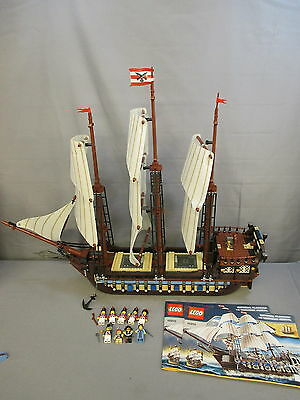 "Lego 10210 ""IMPERIAL FLAGSHIP"" Set w/ Instructions & Minifigures"