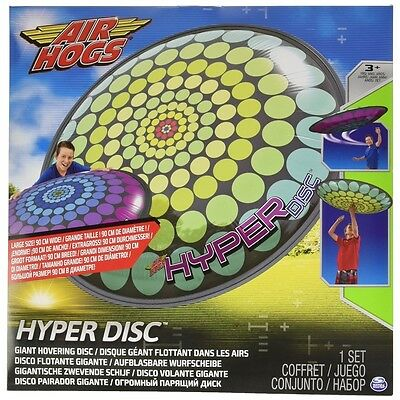 Spinmaster 6024920-hyper Inflatable Air Hogs Flying Disc, Assorted Decorations